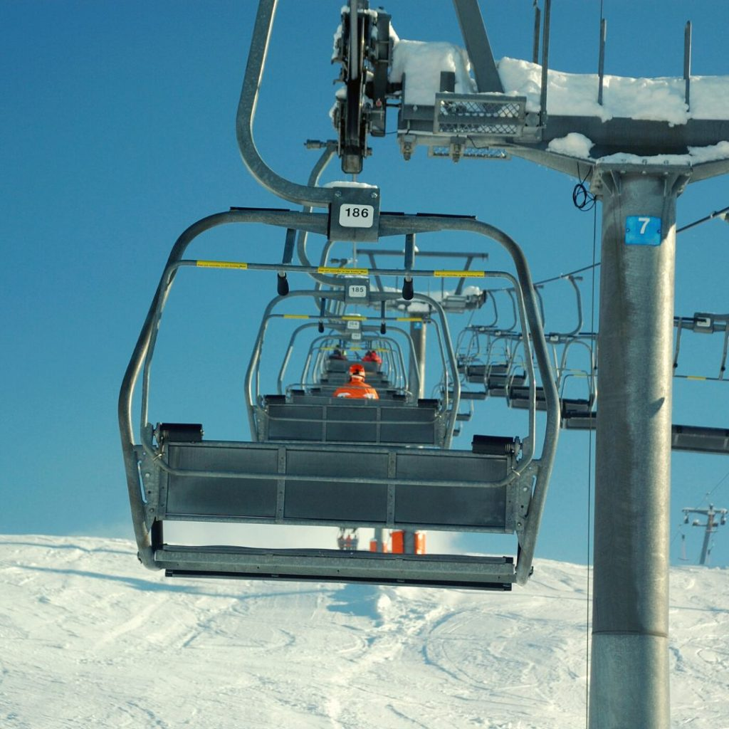 Chairlift rides during COVID