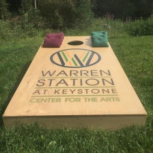 Cornhole Tournament at Warren Station