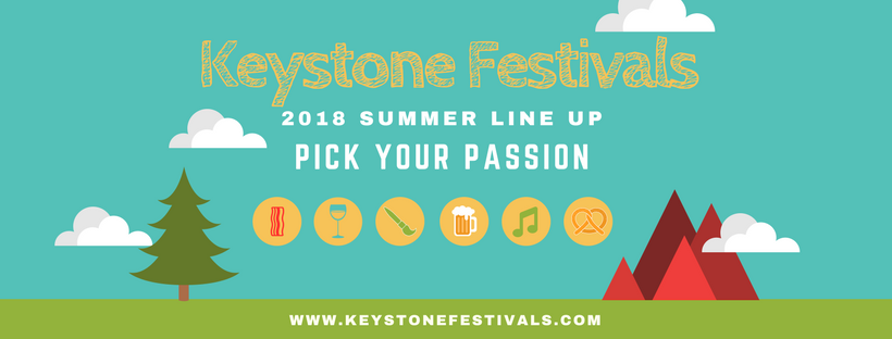 PICK YOUR PASSION – KEYSTONE RESORT'S 2018 SUMMER FESTIVAL LINE-UP HAS IT ALL!