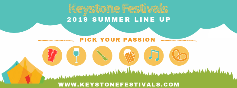 KEYSTONE FESTIVALS LAUNCH 2019 SUMMER EVENT TICKETS EARLIER THAN EVER!
